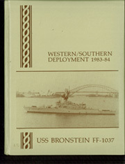 1984 Edition, Bronstein (FF 1037) - Naval Cruise Book