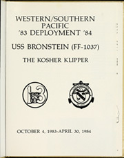 Page 5, 1984 Edition, Bronstein (FF 1037) - Naval Cruise Book online yearbook collection