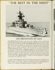 Page 8, 1984 Edition, Bronstein (FF 1037) - Naval Cruise Book online yearbook collection