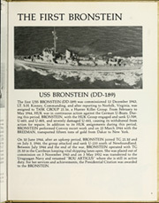 Page 9, 1984 Edition, Bronstein (FF 1037) - Naval Cruise Book online yearbook collection