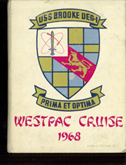 Page 1, 1968 Edition, Brooke (DEG 1) - Naval Cruise Book online yearbook collection