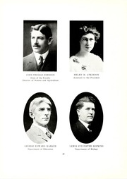 Page 14, 1915 Edition, Kent State University - Chestnut Burr Yearbook (Kent, OH) online yearbook collection