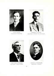 Page 16, 1915 Edition, Kent State University - Chestnut Burr Yearbook (Kent, OH) online yearbook collection