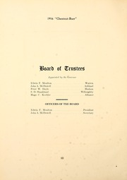 Page 16, 1916 Edition, Kent State University - Chestnut Burr Yearbook (Kent, OH) online yearbook collection