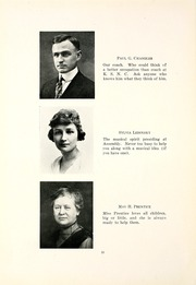 Page 14, 1921 Edition, Kent State University - Chestnut Burr Yearbook (Kent, OH) online yearbook collection