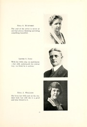 Page 15, 1921 Edition, Kent State University - Chestnut Burr Yearbook (Kent, OH) online yearbook collection