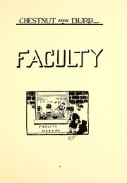 Page 13, 1922 Edition, Kent State University - Chestnut Burr Yearbook (Kent, OH) online yearbook collection