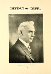 Page 14, 1922 Edition, Kent State University - Chestnut Burr Yearbook (Kent, OH) online yearbook collection