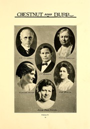 Page 17, 1922 Edition, Kent State University - Chestnut Burr Yearbook (Kent, OH) online yearbook collection