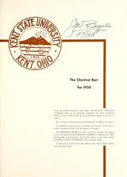 Page 5, 1950 Edition, Kent State University - Chestnut Burr Yearbook (Kent, OH) online yearbook collection