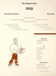 Page 8, 1950 Edition, Kent State University - Chestnut Burr Yearbook (Kent, OH) online yearbook collection