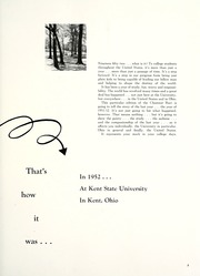 Page 7, 1952 Edition, Kent State University - Chestnut Burr Yearbook (Kent, OH) online yearbook collection