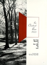 Page 7, 1953 Edition, Kent State University - Chestnut Burr Yearbook (Kent, OH) online yearbook collection