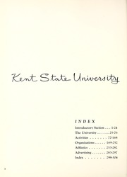 Page 6, 1955 Edition, Kent State University - Chestnut Burr Yearbook (Kent, OH) online yearbook collection