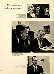 Page 14, 1962 Edition, Kent State University - Chestnut Burr Yearbook (Kent, OH) online yearbook collection