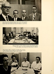 Page 15, 1962 Edition, Kent State University - Chestnut Burr Yearbook (Kent, OH) online yearbook collection
