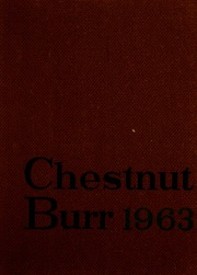 Page 1, 1963 Edition, Kent State University - Chestnut Burr Yearbook (Kent, OH) online yearbook collection