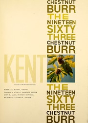 Page 5, 1963 Edition, Kent State University - Chestnut Burr Yearbook (Kent, OH) online yearbook collection