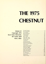 Page 6, 1975 Edition, Kent State University - Chestnut Burr Yearbook (Kent, OH) online yearbook collection
