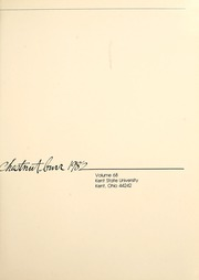 Page 5, 1982 Edition, Kent State University - Chestnut Burr Yearbook (Kent, OH) online yearbook collection