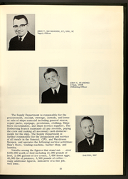 Page 53, 1968 Edition, Buchanan (DDG 14) - Naval Cruise Book online yearbook collection