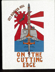 1989 Edition, Bunker Hill (CG 52) - Naval Cruise Book