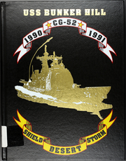 1991 Edition, Bunker Hill (CG 52) - Naval Cruise Book
