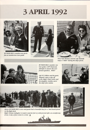 Page 11, 1992 Edition, Bunker Hill (CG 52) - Naval Cruise Book online yearbook collection