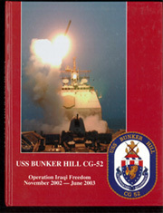 2003 Edition, Bunker Hill (CG 52) - Naval Cruise Book