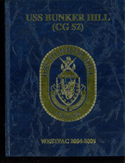 2005 Edition, Bunker Hill (CG 52) - Naval Cruise Book