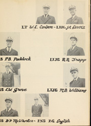 Page 7, 1953 Edition, Burdo (APD 133) - Naval Cruise Book online yearbook collection