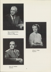 Page 16, 1955 Edition, Fresno State College - Campus Yearbook (Fresno, CA) online yearbook collection