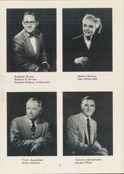 Page 17, 1955 Edition, Fresno State College - Campus Yearbook (Fresno, CA) online yearbook collection