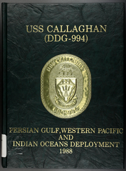 Page 1, 1989 Edition, Callaghan (DDG 994) - Naval Cruise Book online yearbook collection