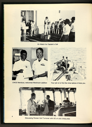 Page 12, 1989 Edition, Callaghan (DDG 994) - Naval Cruise Book online yearbook collection