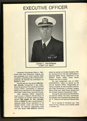 Page 14, 1989 Edition, Callaghan (DDG 994) - Naval Cruise Book online yearbook collection