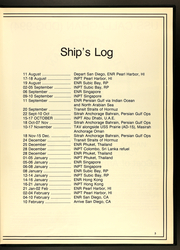 Page 7, 1989 Edition, Callaghan (DDG 994) - Naval Cruise Book online yearbook collection