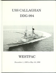 Page 5, 1996 Edition, Callaghan (DDG 994) - Naval Cruise Book online yearbook collection