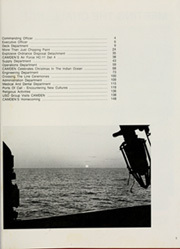 Page 5, 1981 Edition, Camden (AOE 2) - Naval Cruise Book online yearbook collection