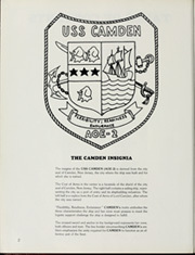 Page 6, 1989 Edition, Camden (AOE 2) - Naval Cruise Book online yearbook collection