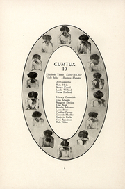 Page 6, 1911 Edition, Milwaukee Downer College - Cumtux Yearbook (Milwaukee, WI) online yearbook collection
