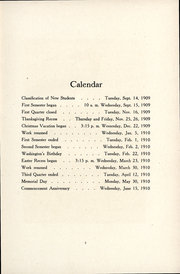 Page 9, 1911 Edition, Milwaukee Downer College - Cumtux Yearbook (Milwaukee, WI) online yearbook collection
