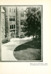 Page 11, 1932 Edition, Milwaukee Downer College - Cumtux Yearbook (Milwaukee, WI) online yearbook collection
