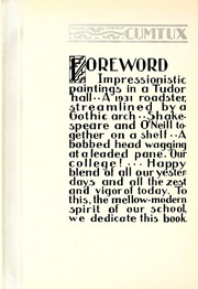 Page 8, 1932 Edition, Milwaukee Downer College - Cumtux Yearbook (Milwaukee, WI) online yearbook collection