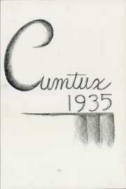 Page 9, 1935 Edition, Milwaukee Downer College - Cumtux Yearbook (Milwaukee, WI) online yearbook collection