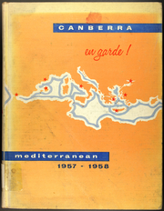 1958 Edition, Canberra (CAG 2) - Naval Cruise Book
