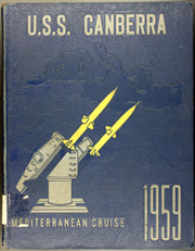 1959 Edition, Canberra (CAG 2) - Naval Cruise Book