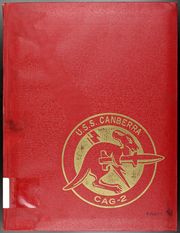 1966 Edition, Canberra (CAG 2) - Naval Cruise Book