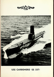 Page 5, 1967 Edition, Carbonero (SS 337) - Naval Cruise Book online yearbook collection