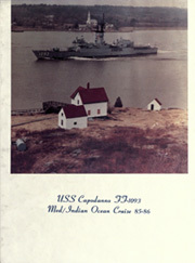 1986 Edition, Capodanno (FF 1093) - Naval Cruise Book